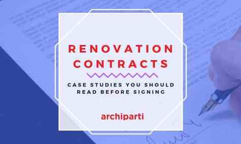 Case Studies of Terrible Renovation Contracts (Updated 2019)