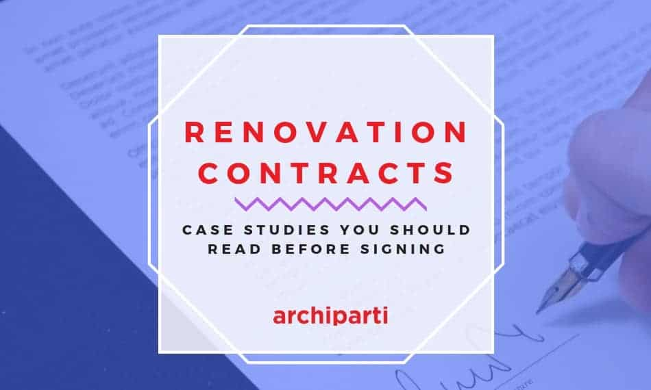Case Studies of Terrible Renovation Contracts (Updated 2020)