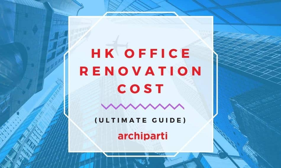 office interior design cost per square foot