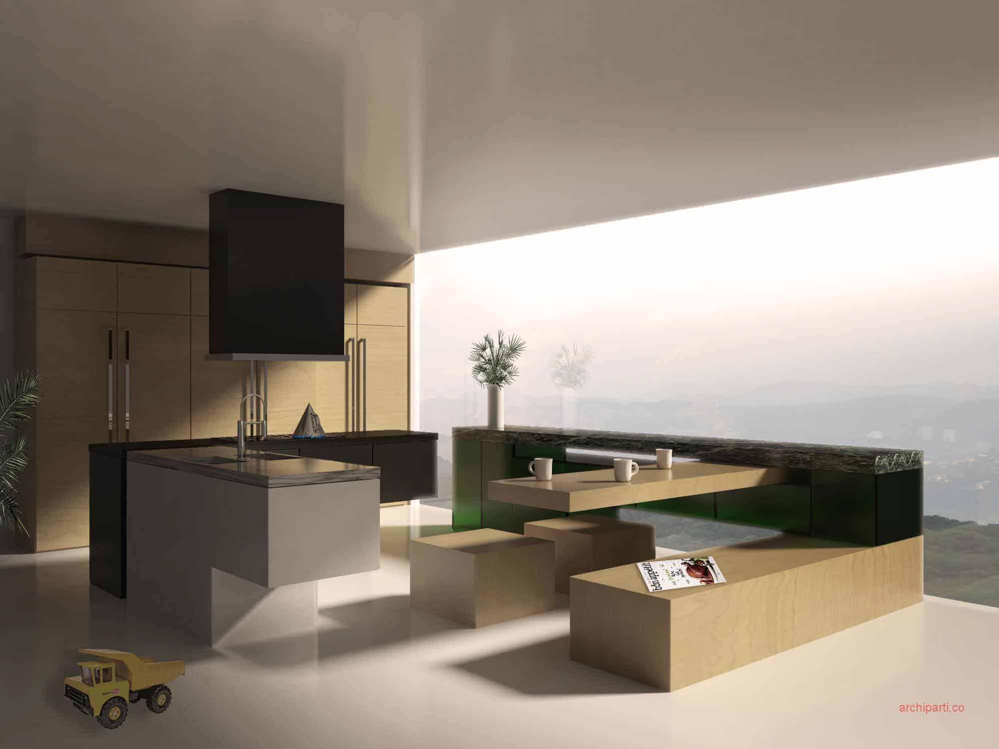 kitchen builder app moen high arc faucet 中西双厨 最厉害的现代厨房设计装修 你知道这23个秘密吗 公寓厨房设计