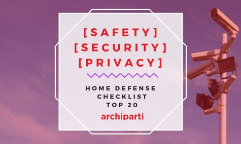 | Safety | Security | Privacy | Home data & physical defense checklist (Top 20)
