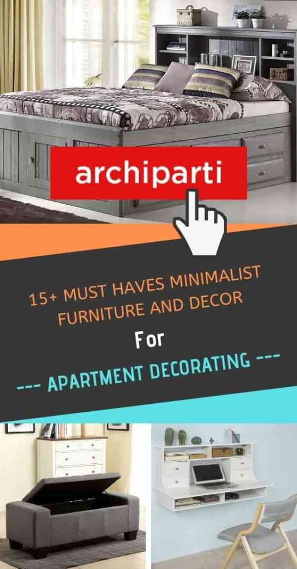 15+ Must Haves Minimalist Furniture and Cute Decor for Apartment Decorating