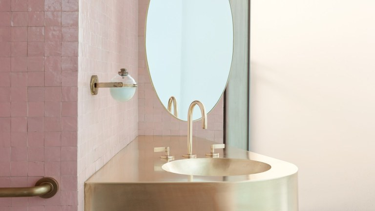 Your Bathroom Vanity Doesn't Need to Be Rectangular in 2020