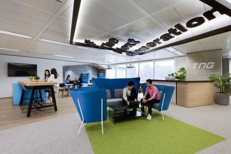留住90後年青員工:香港金融科技寫字樓室內設計(2020)