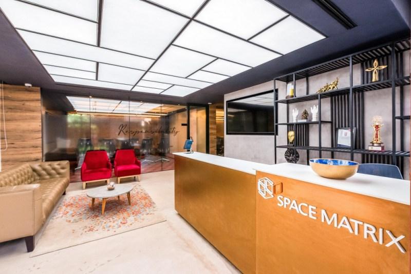 班加羅爾的Space Matrix創新實驗室採用尖端的工作場所技術,最大限度地提高員工的敬業度