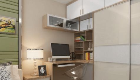 以後都要在家工作?學酒店房間設計的4個小睡房電腦桌案例【蝸居裝修2021】