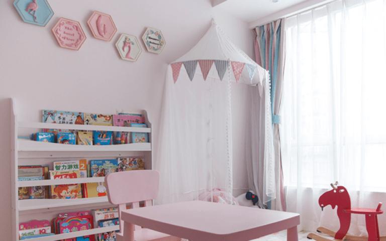 女童睡房設計:教育孩子这些事一定要做好啊(2020)