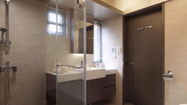 浴室設計可以有哪些變化?小浴室乾濕分離的材料如何選擇?【家居設計及裝修2020】