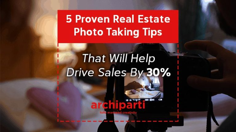 5 Proven Real Estate Photo Taking Tips that will help drive sales by 30% in 2020
