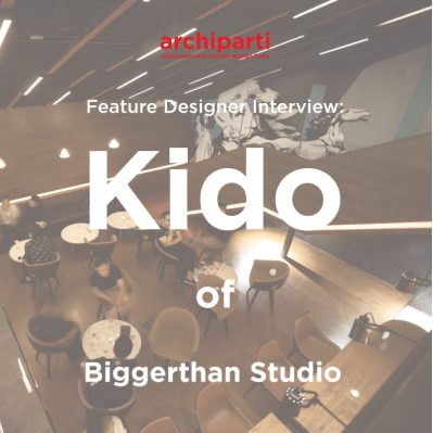 Featured Designer: RYOYU KIDO, founder of BIGGERTHAN studio