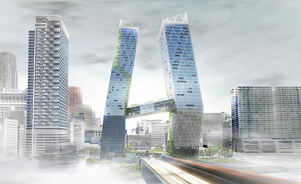 Congress Gateway Towers By Danny Mui & Benjamin Sahagun