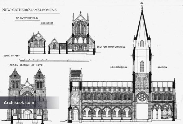1880  u2013 st  paul u2019s cathedral  melbourne  victoria  australia  u2013 archiseek  u2013 irish architecture