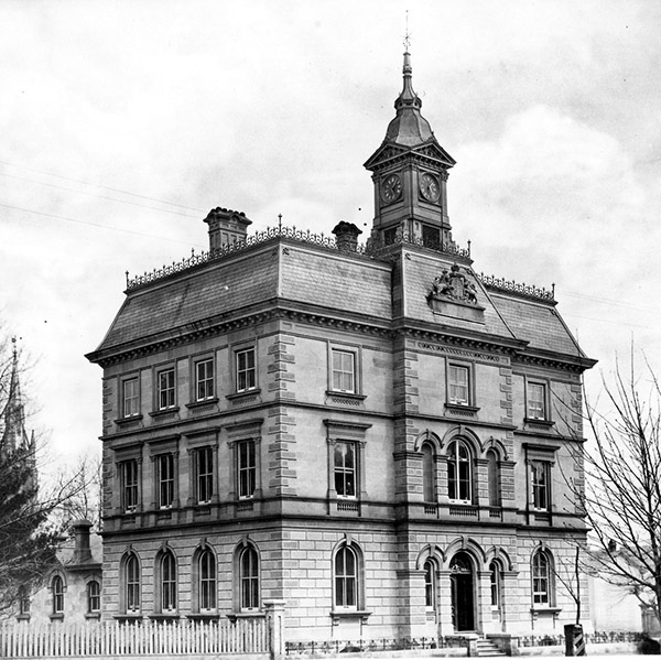 1873  The Custom House, London, Ontario  Architecture Of