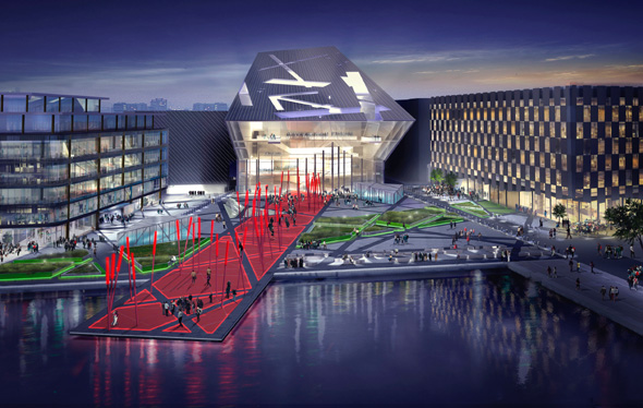 Dockland Scheme To Express Vitality Of Dublin