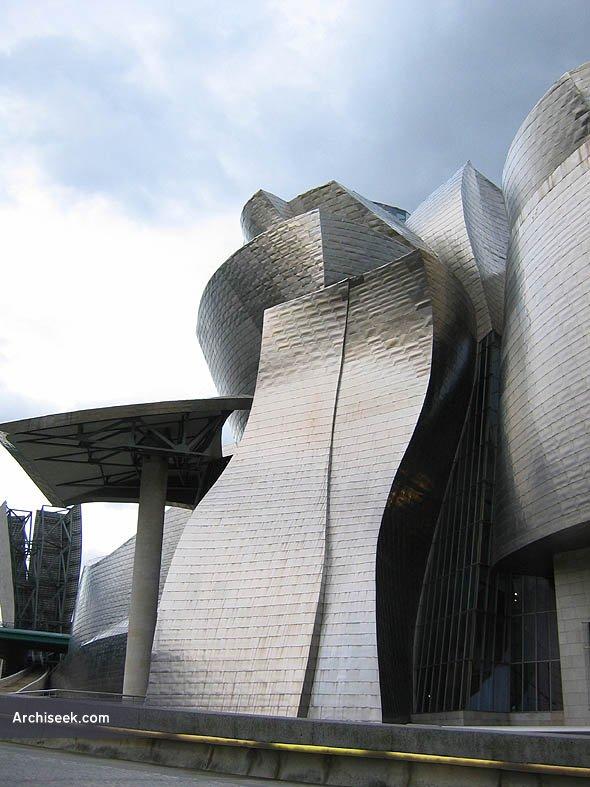 Guggenheim Museo.1997 Museo Guggenheim Bilbao Bilbao Spain Archiseek Irish