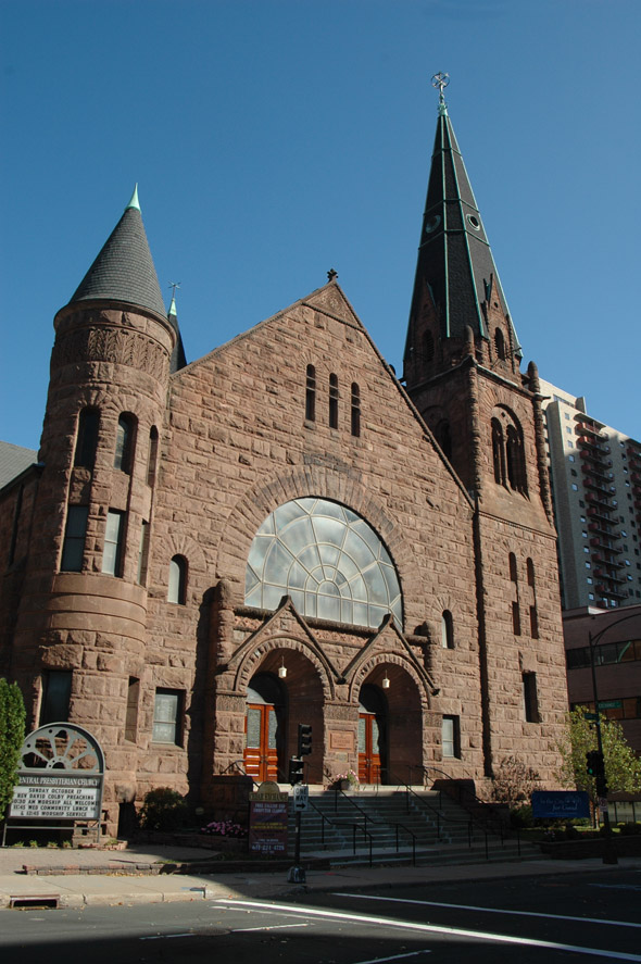 1890 - Central Presbyterian Church, St. Paul, Minnesota