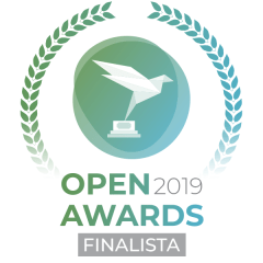 Entre los 3 finalistas de Open Awards 2019
