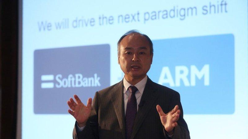 Ejecutivo del grupo SOftBank propietario de ARM Holdings