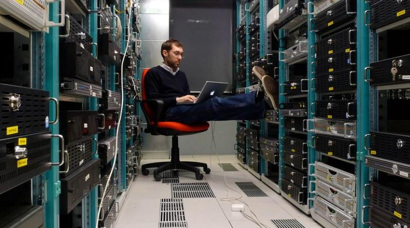 centro de datos y administrador