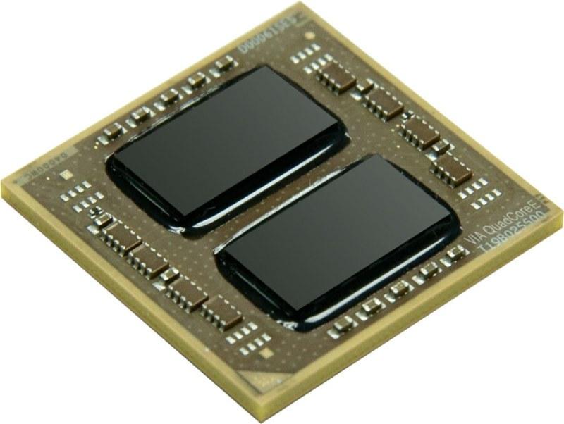 VIA QuadCore chiplet x2