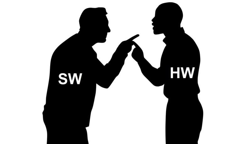 software vs hardware
