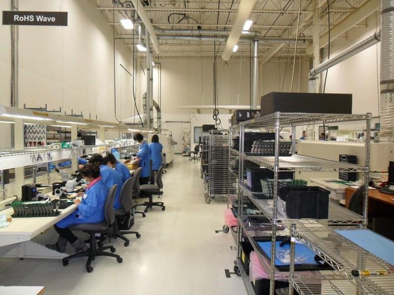fábrica de Foxconn