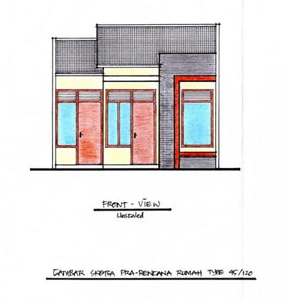 desain denah rumah dan tampak depan - berbagai desain rumah