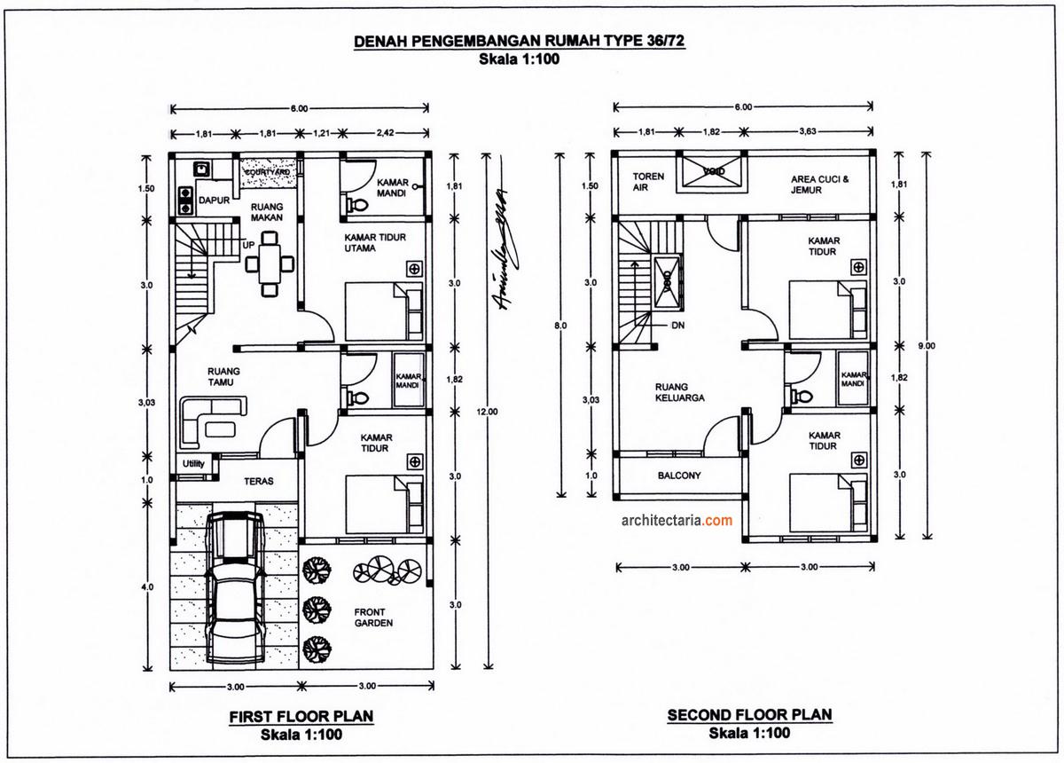 Desain Atap Rumah Minimalis Type 36 Rumah Minimalis Labs