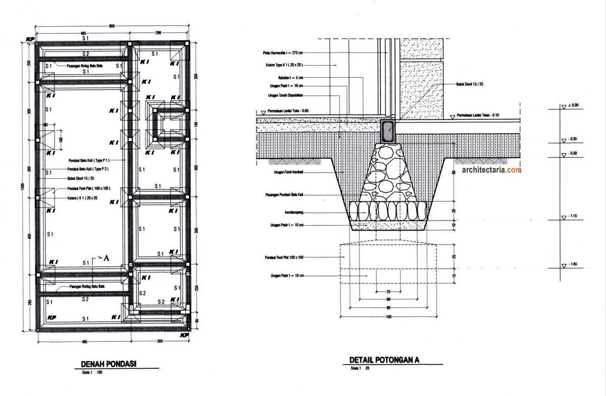 GARASI Studio Desain Rumah Dan Ruang Usaha RukoRukan 2