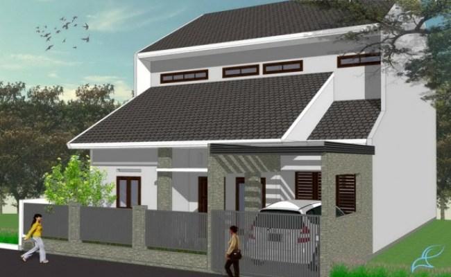 Desain Arsitektur Rumah Modern Tropis Di Sentul Bogor