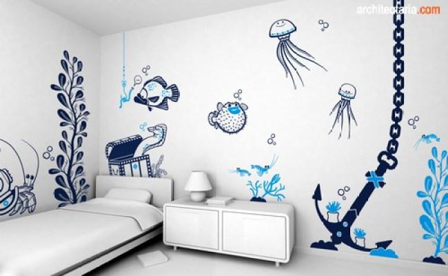 Wall Covering Untuk Kamar Tidur Anak Pt Architectaria