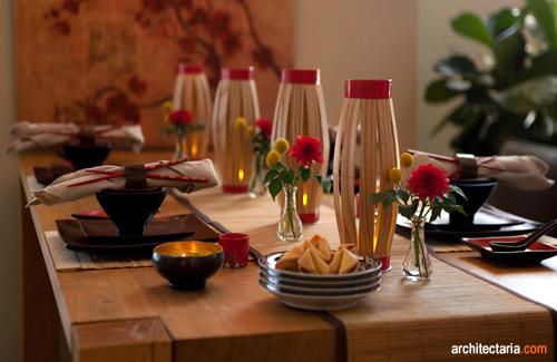 Penataan Meja Makan untuk Perayaan Imlek  PT