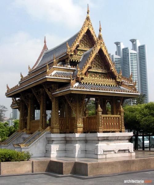 Mengenal Desain Arsitektur Tradisional Thailand  PT