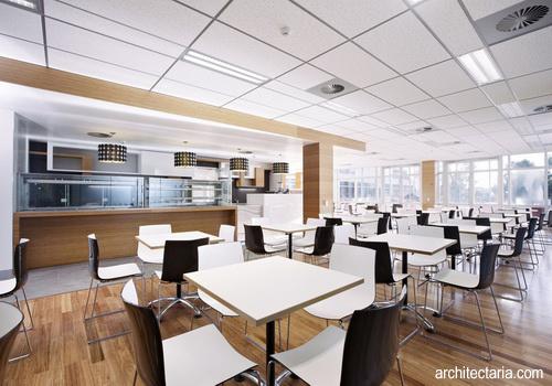 Desain Kantin untuk Area Perkantoran  PT Architectaria