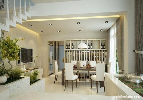 Mendesain Interior Dapur dan Ruang Makan  PT