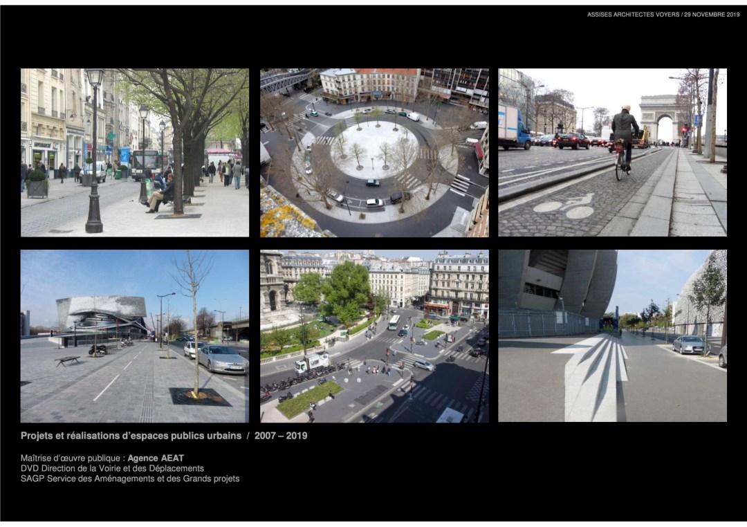 espaces publics parisiens