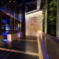 Kitchen Booths Round Table For 6 Hakkasan Las Vegas Restaurant And Nightclub By Gilles Et ...