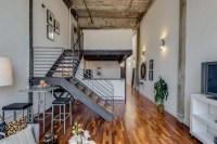 Conversion Loft in San Francisco With Vaulted Concrete ...