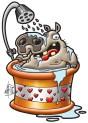 hippo-bath