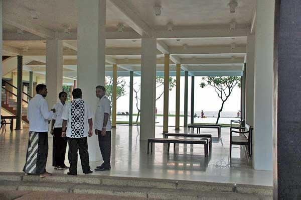 ヘリタンス アフンガッラ ロビー Heritance ahungalla hotel lobby