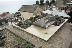 ル・コルビュジエ夫妻のお墓(ロクブリュヌ・カップマルタン)