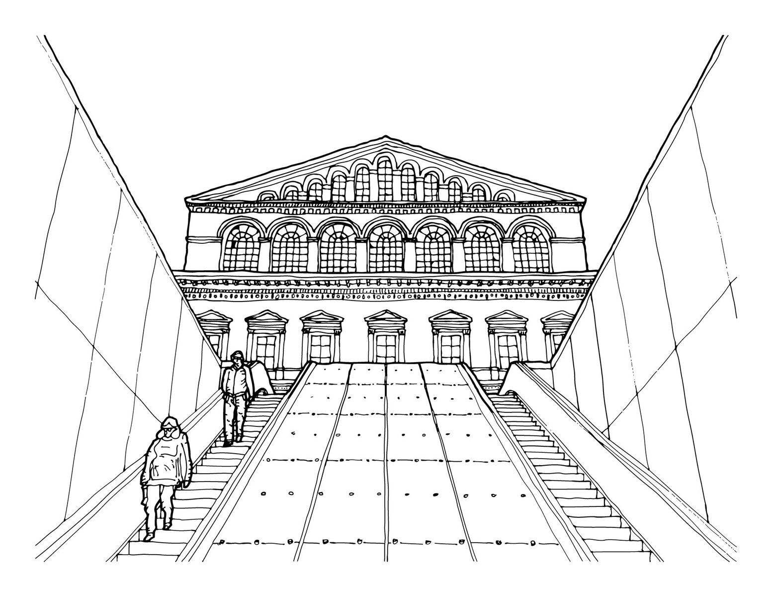 An Architectural Coloring Book for Washington, D.C