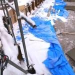 雪の中で工事をするために、最低限必要なこと(北海道建築編)