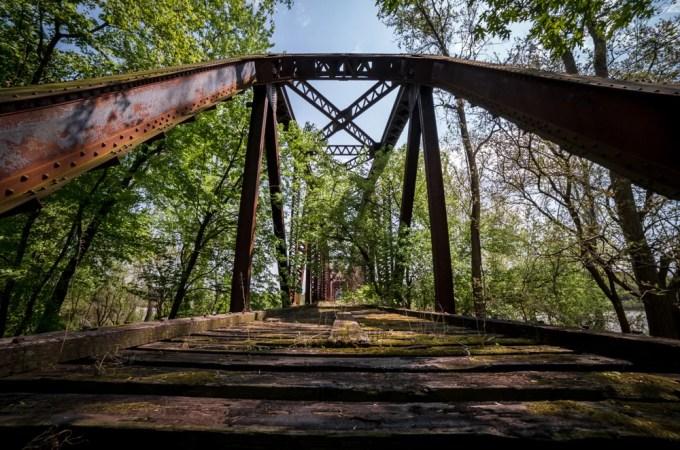 The Old Missouri River Bridge