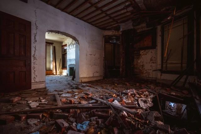 first national negro opera company house abandoned