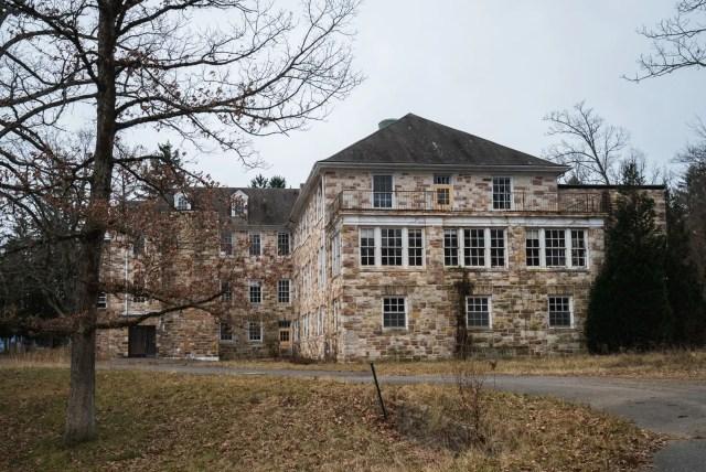 abandoned laurelton state village pennsylvania