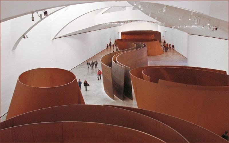 Richard Serra master metal artist  Art  Architectural