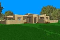 Adobe House Plans  ArchitecturalHousePlans.com