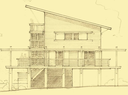 1 Bedroom House Plans For An Eco Friendly Beach Cottage