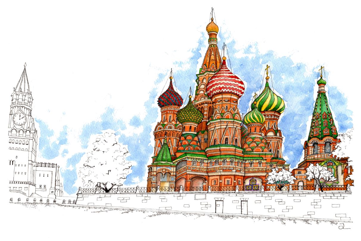 St.Basils, Moscow, Russia